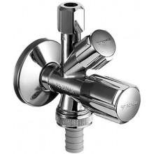 SCHELL COMFORT rohový ventil DN15, kombinovaný, chrom 035510699