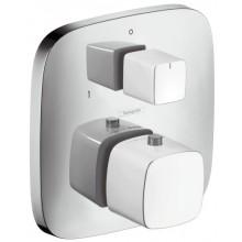 HANSGROHE PURAVIDA termostat pod omítku s uzavíracím a přepínacím ventilem bílá/chrom 15771400