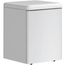 Nábytek ostatní Ideal Standard SoftMood pojízdná skříňka se sedátkem 40,5x40,2x52 cm lesklý lak světle šedý