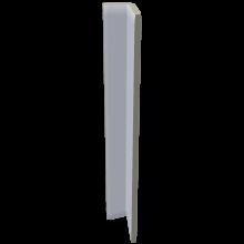 RAKO COLOR TWO vnitřní hrana 2,4x20cm, průběžná, světle modrá