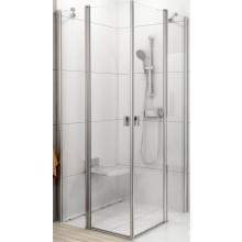 Zástěna sprchová dveře Ravak sklo Chrome CRV2/1200 1200x1950mm bílá/transparent