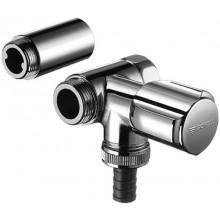 SCHELL COMFORT vedlejší připojovací ventil DN20, chrom, 033240699