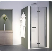 SANSWISS SWING LINE F SLF2 sprchové dveře 1200x1950mm, dvoudílné, skládací, bílá/čirá