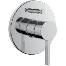 Baterie sprchová Laufen nástěnná páková Kartell by Laufen s přepínáním  chrom