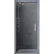IDEAL STANDARD SYNERGY pivotové dveře 90cm silver bright/sklo L6362EO