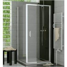 SANSWISS TOP LINE TOPP sprchové dveře 1000x1900mm, jednokřídlé, aluchrom/čiré sklo Aquaperle