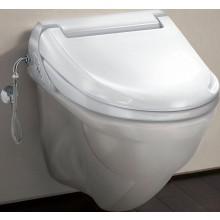 GEBERIT AQUACLEAN 4000 SET závěsné WC 40x52cm s bidetovacím sedátkem, alpská bílá