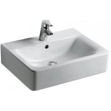 Umyvadlo klasické - s otvorem Concept Cube 55x46 cm bílá