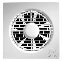 Axiální ventilátor s nastavitelným časovým doběhem od 3 do 20 min s ultratenkým předním panelem 17mm, nenáročnou instalaci a údržbu zaručuje uchycení jen jedním šroubem, dodanou spolu se zařízením, montáž na strop nebo stěnu, profil lopatek ventilátoru a