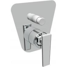Baterie sprchová Raf podomítková páková Costa s přepínačem  chrom