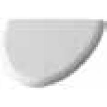 Pisoár Duravit Fizz víko závěsy ušlechtilá ocel bílá/ušlechtilá ocel