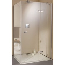 Zástěna sprchová dveře Huppe sklo Enjoy 1200x2000 mm chrom/čiré AP