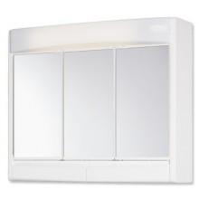 JOKEY SAPHIR zrcadlová skříňka 60x18x51cm plast, bílá/bahama béžová