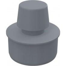 CONCEPT přivzdušňovací hlavice Ø75mm, polypropylen