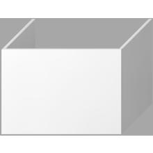 JIKA CUBITO-N skříňka pod desku 640x467x450mm 1 zásuvka, bílá 4.1J42.4.301.500.1