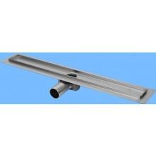 CONCEPT 50 podlahový žlab 785mm, s horizontální přírubou, nerez ocel