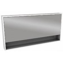 Nábytek zrcadlová skříňka Kolo Ego/Ovum by Antonio Citterio 120x60x13,5 cm bílá lesklá