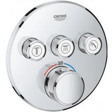 GROHE GROHTHERM SMARTCONTROL termostat pro podomítkovou instalaci 158mm, s 3 ventily, chrom