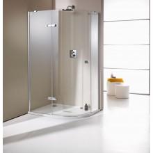 Zástěna sprchová čtvrtkruh Huppe sklo Enjoy elegance 672310.091.322 900x900x2000 mm chrom/čiré AP