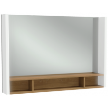 Nábytek zrcadlová skříňka Kohler TERRACE LED Osvětlení vlevo a vpravo 100x13x68.5 cm Neutral
