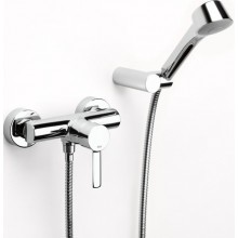 ROCA TARGA Sprchová páková baterie se sprchou, hadicí a držákem, chrom 75A2060C00