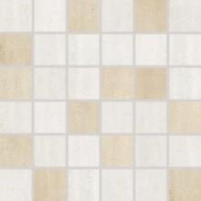 Obklad Rako Manufaktura mozaika 5x5 (30x30) cm béžová