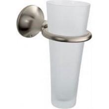 AXOR TERRANO sklenička na ústní hygienu 156mm, satinox/sklo 41334810