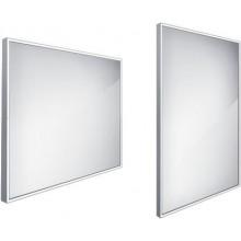 NIMCO koupelnové zrcadlo 600x800m, podsvícené LED, hliník