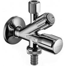 SCHELL kombinovaný rohový ventil DN15, s filtrem, chrom, 035600699