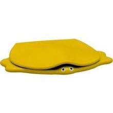 KERAMAG KIND klozetové sedátko, dětské, s poklopem, žlutá 573362000