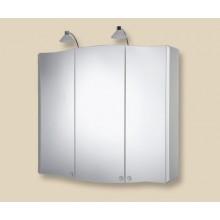 Nábytek zrcadlová skříňka Jokey VitALU 80 80x74,5x16 cm korpus hliník