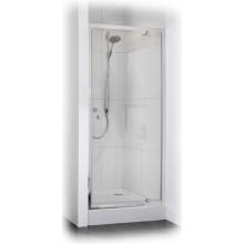 CONCEPT 50 sprchové dveře 900x1850mm křídlové, stříbrná/čiré sklo PT620302.069.321