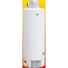 QUANTUM Q7-50-VENT-B/E plynový ohřívač 195l, 9kW, zásobníkový, s otevřenou spalovací komorou, stacionární, turbo, bílá