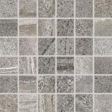 RAKO RANDOM mozaika 30x30cm, tmavě šedá
