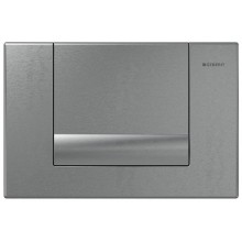 GEBERIT TANGO ovládací tlačítko 24,6x16,4cm, palladium mat 115.760.HC.1