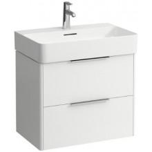 LAUFEN BASE skříňka pod umyvadlo 635x391x515mm, 2 zásuvky, bílá lesk