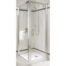 Zástěna sprchová dveře Kolo sklo Geo-6 900x1900 mm stř.lesk./pravé bezp.sklo čiré