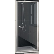 SANSWISS ECO LINE ECOP sprchové dveře 900x1900mm jednokřídlé, aluchrom/čiré sklo