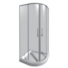 JIKA LYRA PLUS sprchový kout 900x900x1900mm čtvrtkruh, stripy