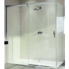 Zástěna sprchová dveře Huppe sklo Aura elegance 1100x1900 mm stříbrná matná/čiré AP