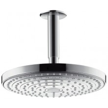 Sprcha hlavová Hansgrohe Raindance Select S s přívodem od stropu d=240mm chrom