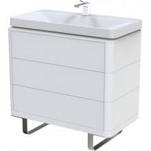 TOTO SG skříňka pod umyvadlo 890x500mm 3 zásuvky, highgloss white, FU10743L-MW