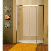SANSWISS PUR LIGHT S PLS4 sprchové dveře 1700x2000mm, dvoudílné posuvné, aluchrom/čirá
