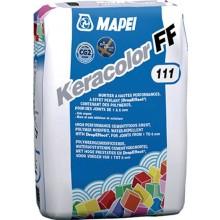 MAPEI KERACOLOR FF spárovací hmota 5kg, cementová, hladká, 111 stříbrošedá