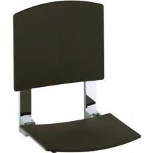 KEUCO PLAN CARE sedátko do sprchy 363x495mm, na stěnu, chrom/tmavě šedá