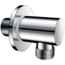 CONCEPT 300 výpusť vody 54,5mm, kulatá, bez držáku sprchy, kov, chrom
