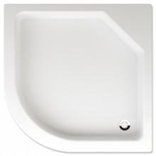 TEIKO TAURUS sprchová vanička 90x90x14cm, R50cm, čtvrtkruh, akrylát, bílá