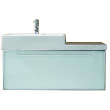 Nábytek skříňka pod umyvadlo Laufen Case plus 97x39x45 cm bílá-bílá