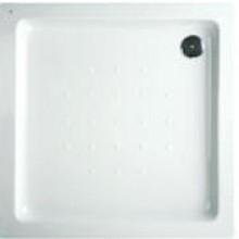 DEEP BY JIKA akrylátová sprchová vanička 1000x1000x80mm čtvercová, samonosná, bílá