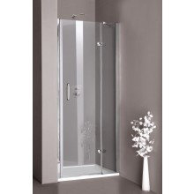 Zástěna sprchová dveře - sklo Concept 300 do niky, upevnění vpravo 800x1900mm stříbrná lesklá/čiré AP